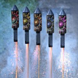 Raketen und Sortimente